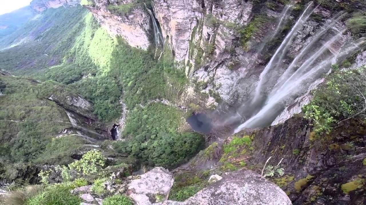 Cachoeirão, no Vale do Pati.