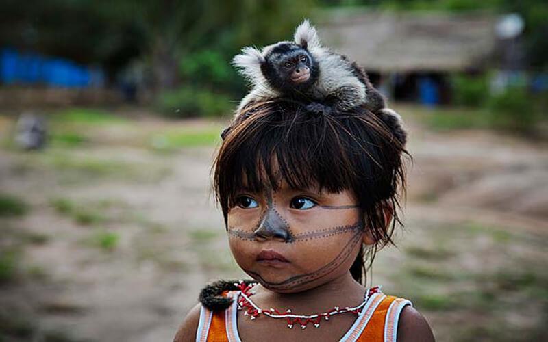 Pets das tribos indígenas