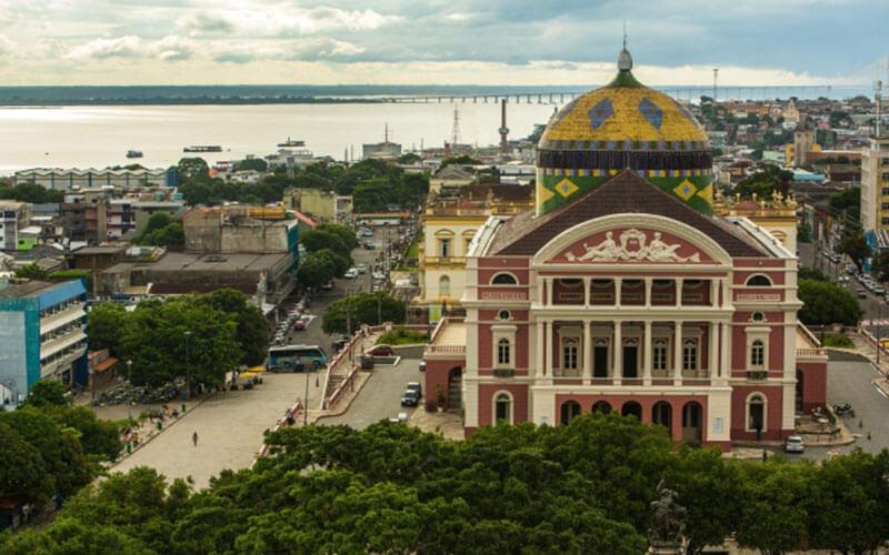 Belle Époque: Teatro Amazonas em Manaus