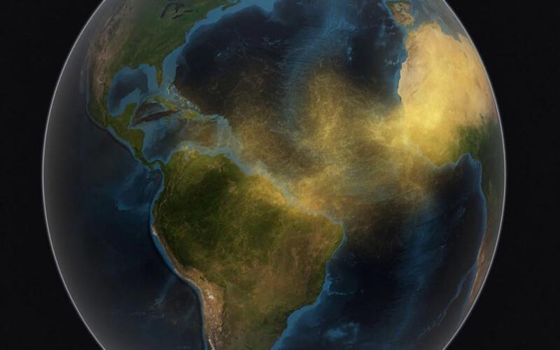 O Deserto do Saara na Amazônia
