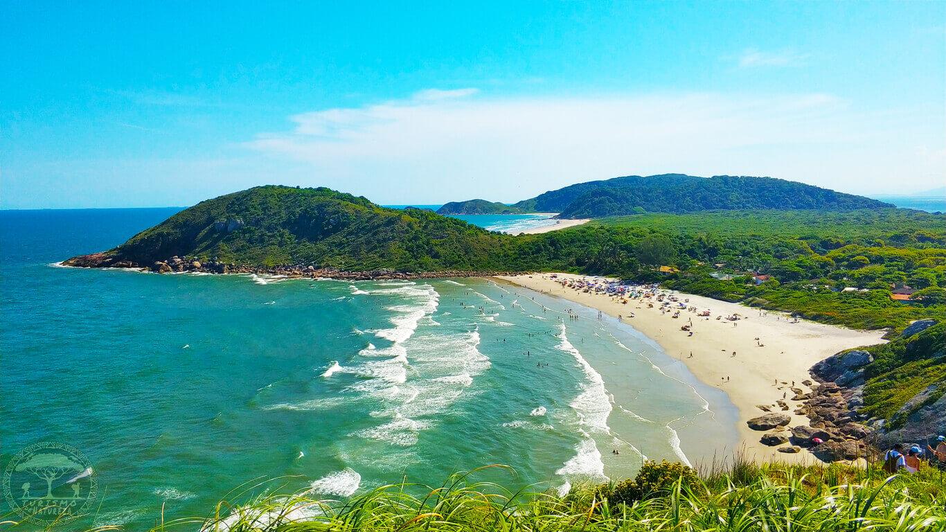 Praia de Fora na Ilha de Mel.