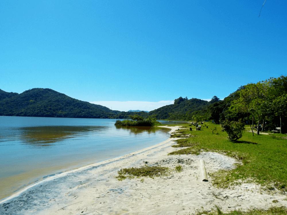 Parque da Lagoa do Peri em Florianópolis.