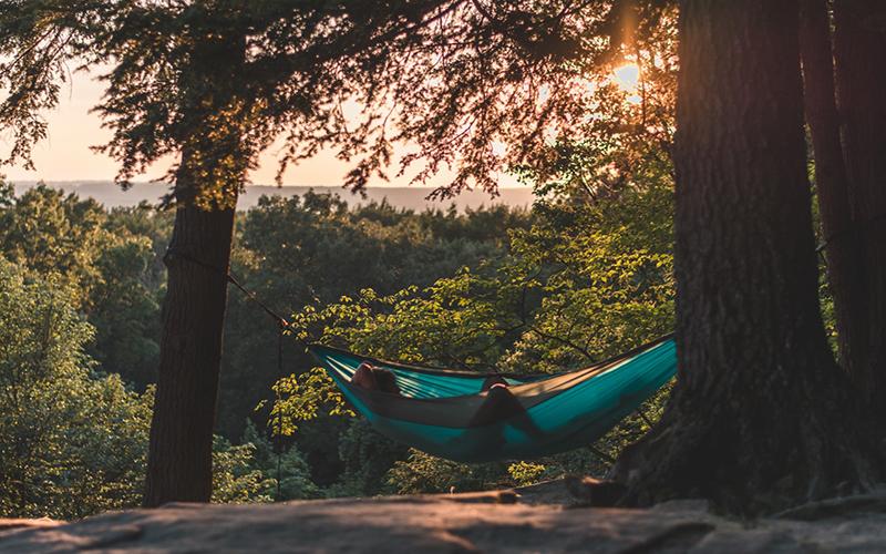 Relaxando na Natureza