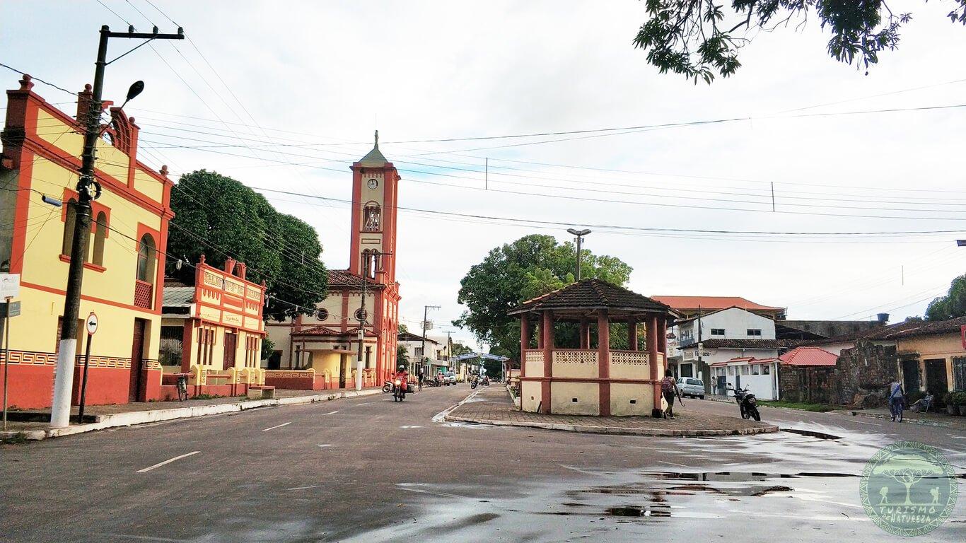 Cidade de Soure na Ilha de Marajó.