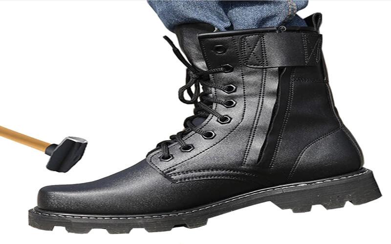 Biqueira de bota de trilha