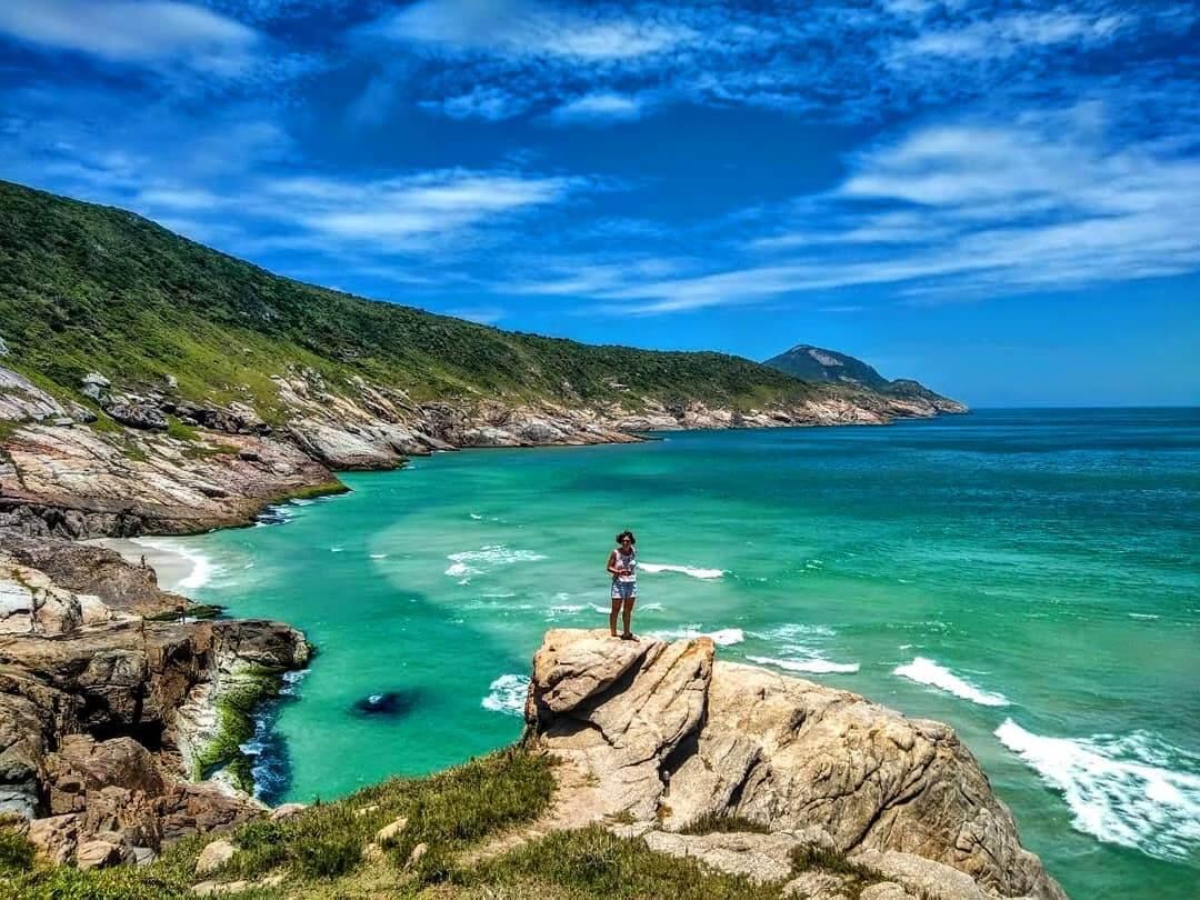 Praia Brava em Arraial do Cabo