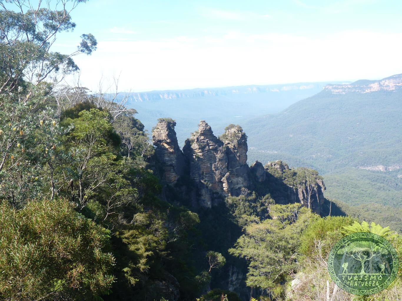Blue Mountains, um parque incrível perto de Sydney.