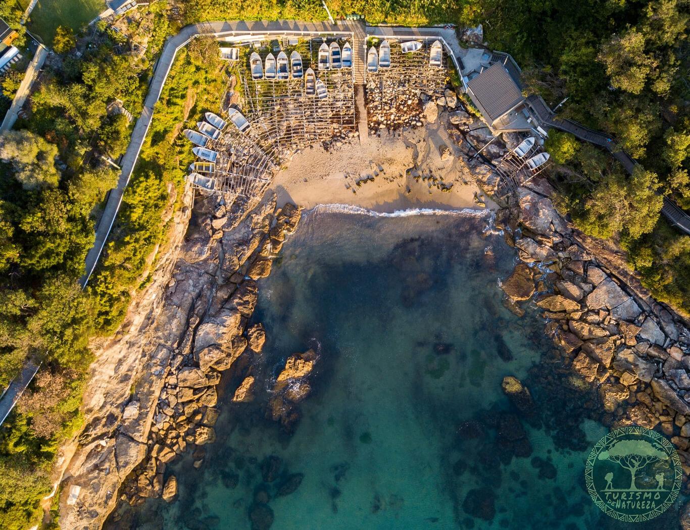 A encantadora Gordon's Bay. Um lugar tranquilo e relaxante.