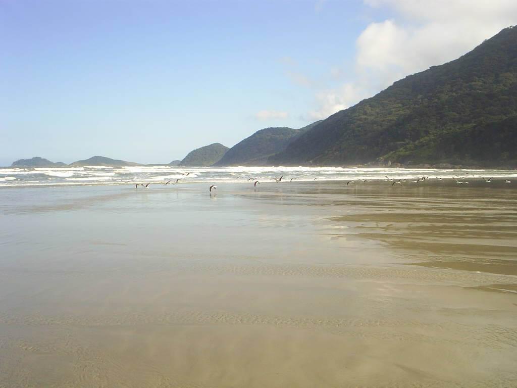 Praia de Ipanema na Ilha do Cardoso - São Paulo