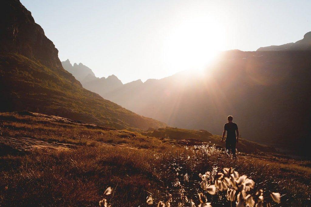 Benefícios do contato com a natureza: A Vitamina D da exposição ao sol.