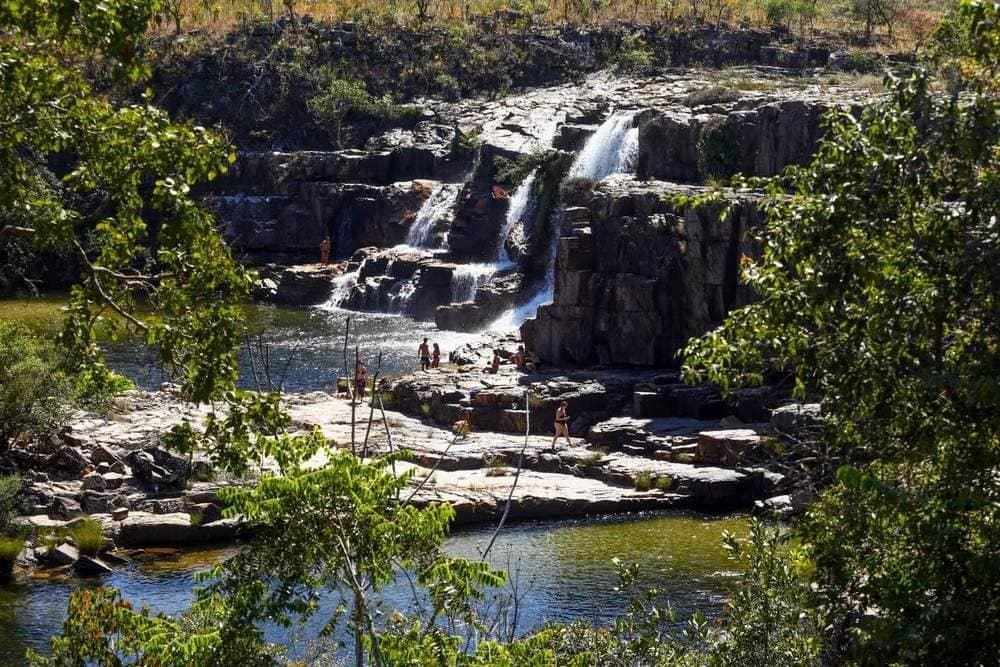 Catarata do Rio dos Couros..